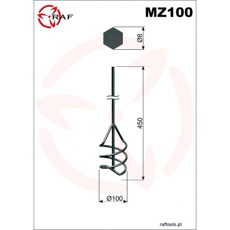 Mieszadło do zapraw MZ100